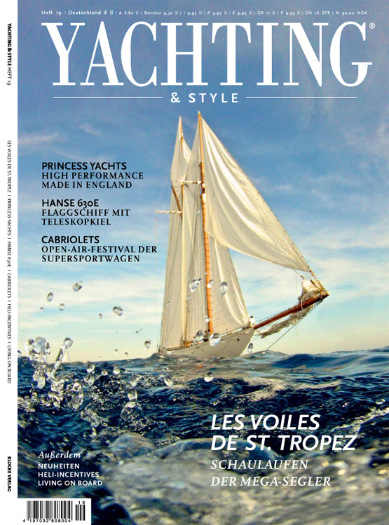 nice2meetU-Titel Yachting Magazin