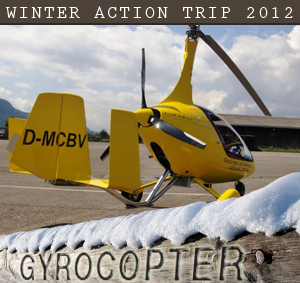 Winter Action Trip Gyrocopter