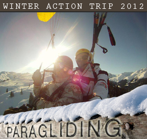 Winter Action Trip Paragliding