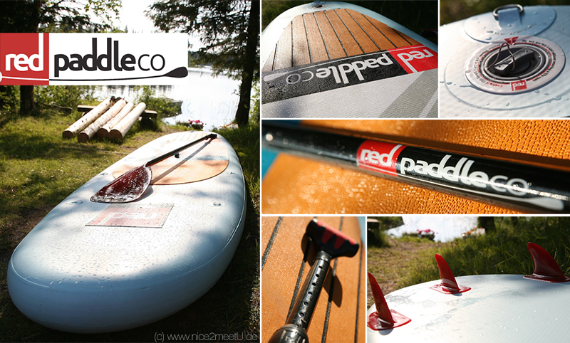 Red Paddle Ride testing